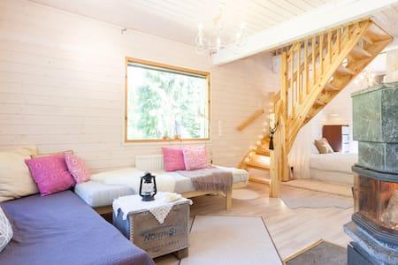 Traditional Cottage on Lake Area - Röykkä