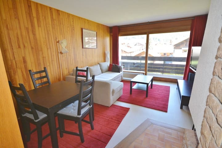 CHEVRULS - 2 pers. 64 - Studio Morzine city center