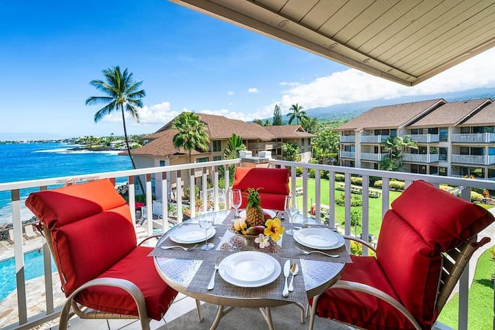 Lanai perfect for outdoor dining