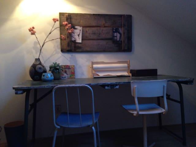 Gezellige zolderkamer nieuwbouwwijk - Zwolle - Hus