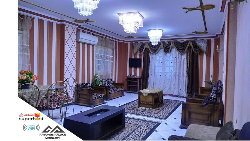 royal apartment in pyramids gardens