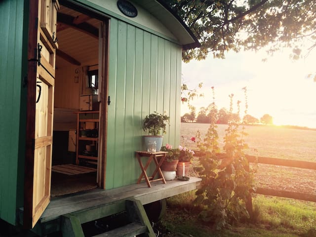 Idyllic Shepherd's Hut near Chieveley