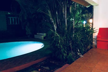 Villa6 ,pool facing ,luxury villas   ,Anjuna GOA
