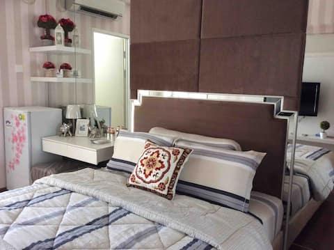 Educity apartment surabaya, comfortable room