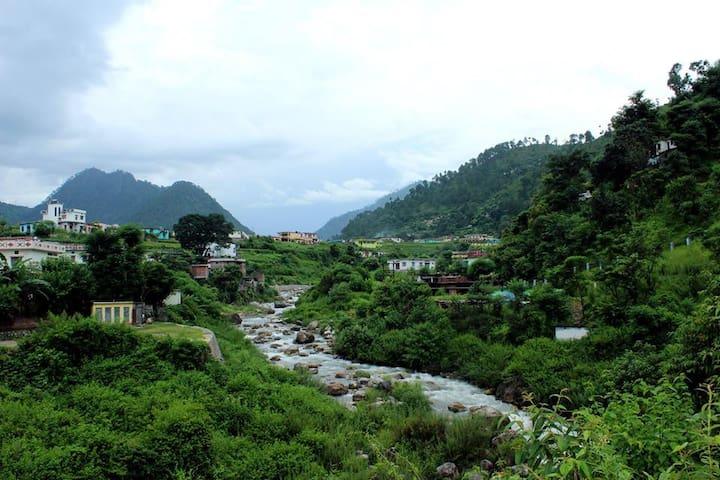 Gauchar during Monsoon