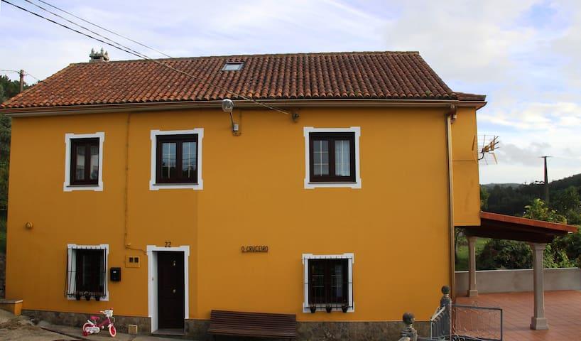 Casa rural ideal para el descanso. - Santo Estevo de Lires - Casa