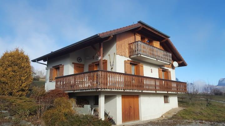 Maison 140m2, 4 chambres, proches stations ski