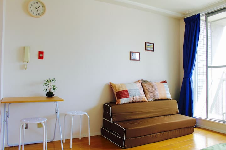 [KYOTO] 301. PRIVATE NEW Apartment 3minSta. Wi-Fi - Kita-ku, Kyōto-shi - Apartament