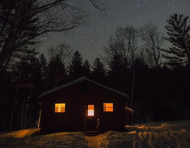 Babbling Brook Cabin, Adirondacks - North Creek