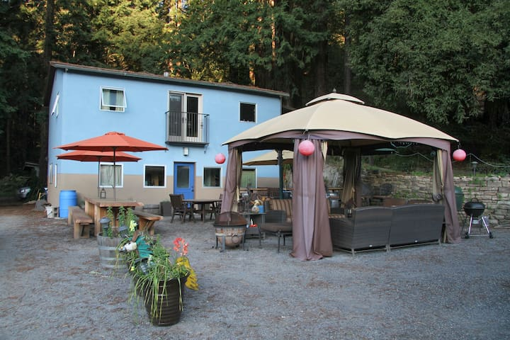 """TreeHouse""  Farm-stay  w/ Jacuzzi - Guerneville - Apartment"