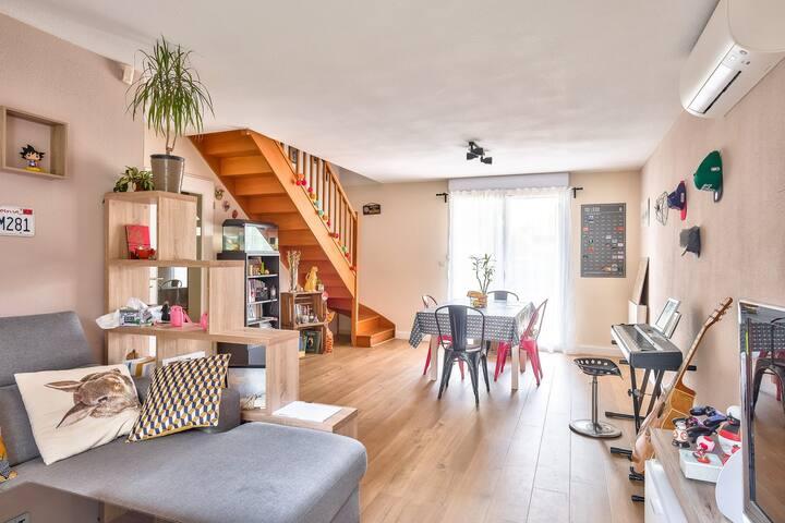 LM - Belle maison familiale avec jardin proche Oncopole