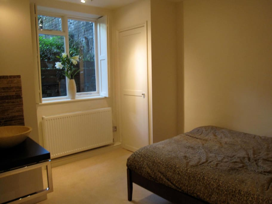 Double bedroom with comfortable double bed
