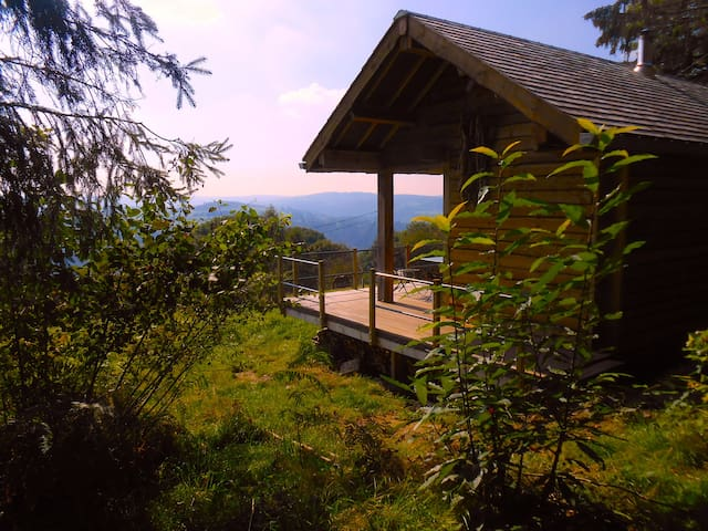 Eco-cabin at the edge of the wood - Stoumont - Cabaña