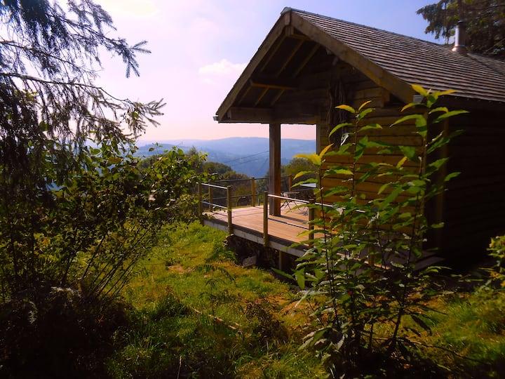 éco-cabane nature à l'orée du bois