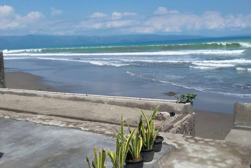 Balkon langsung pantai