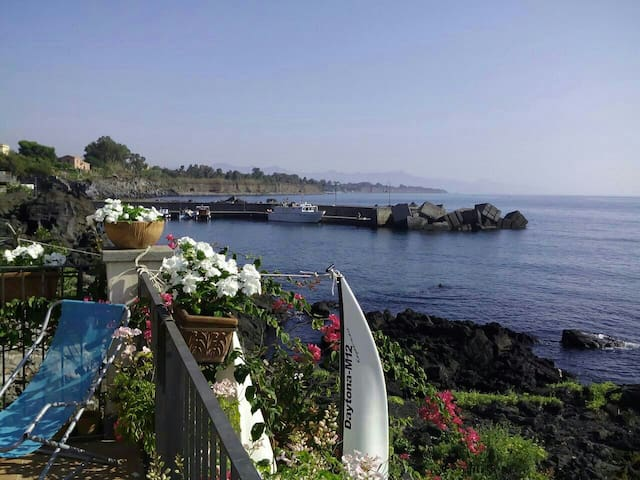 Sea and Volcano Etna - Acireale - Wohnung