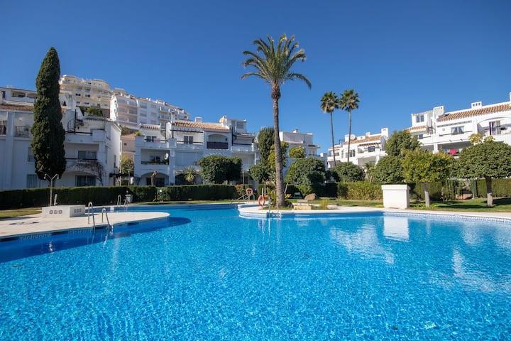 Garden Floor Albamar Golf in Riviera del Sol