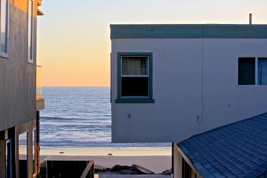 Ocean view from unit living room