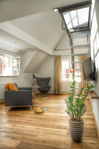Loftartiges Apartment auf 2 Ebenen