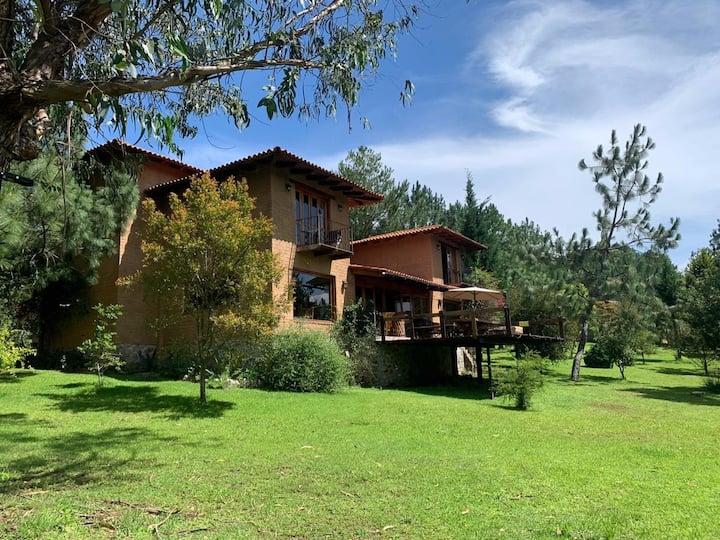 Acogedora cabaña en Tapalpa