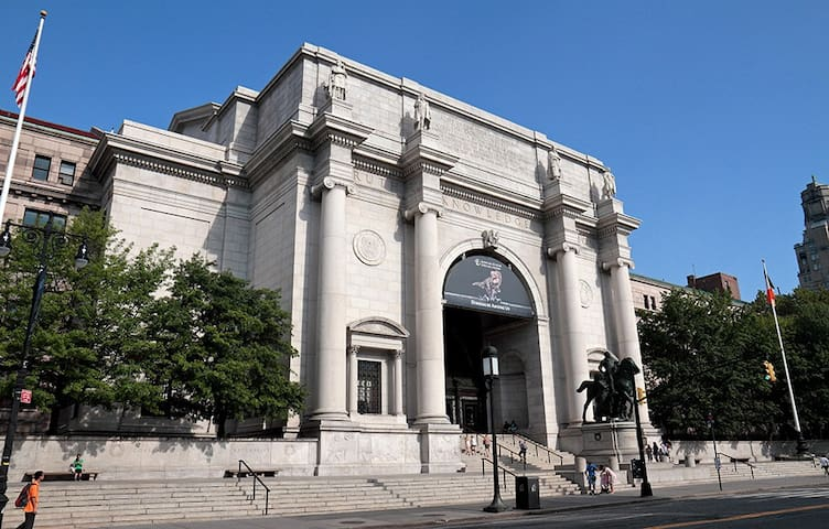 Free tickets to the American Museum of Natural History.  General Admission and Special Shows