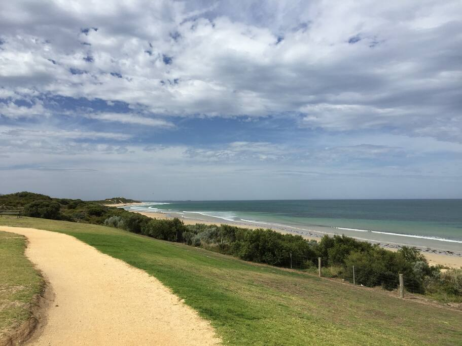 Only a 5-10 minute walk from this great beach, Fishermans Beach!