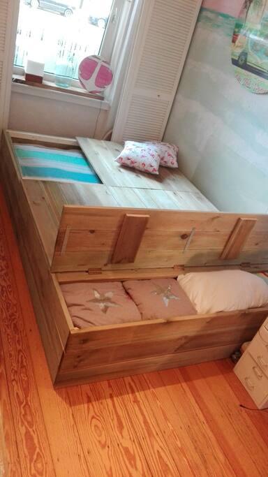Die Seeräuberkiste ist Dein Bett