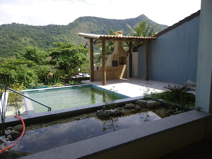 Ecological house, beautifull view and natural pool