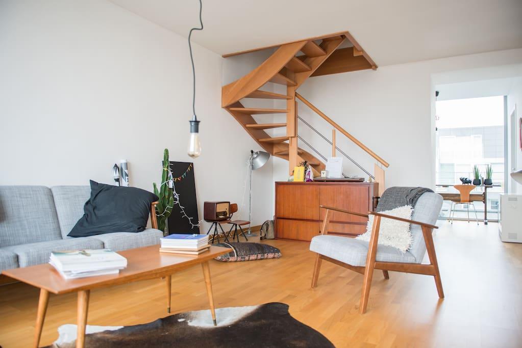 10 off now duplex appartement in gent appartements for Design appartement gent