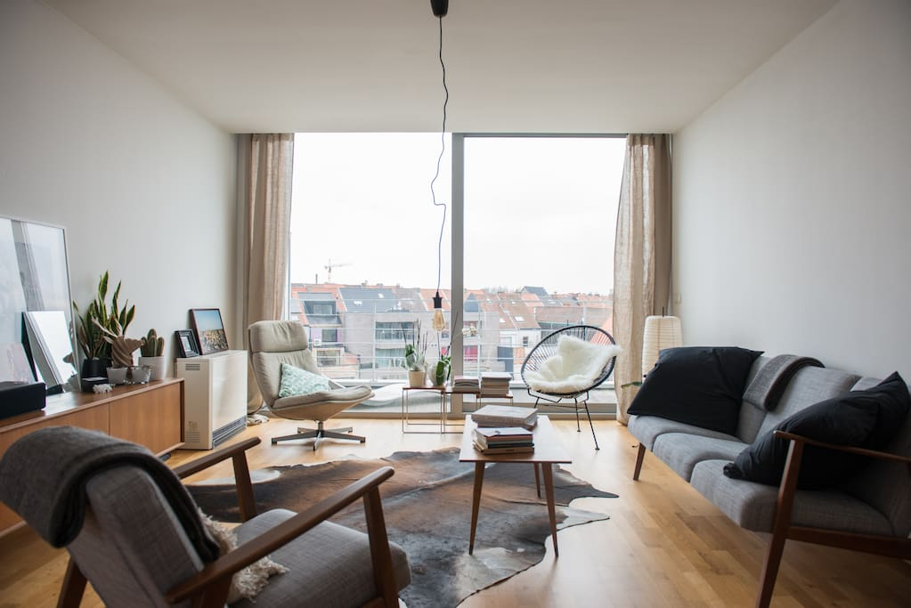 10 off now duplex appartement in gent flats for rent for Design appartement gent