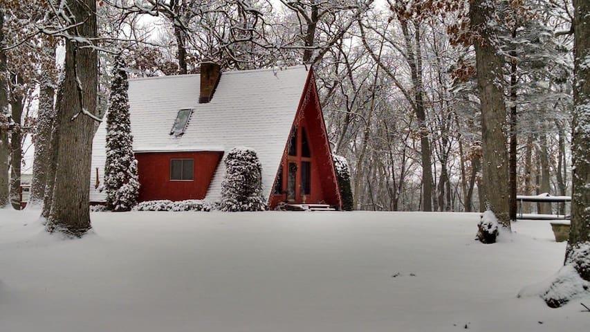 Winter scene opposite side