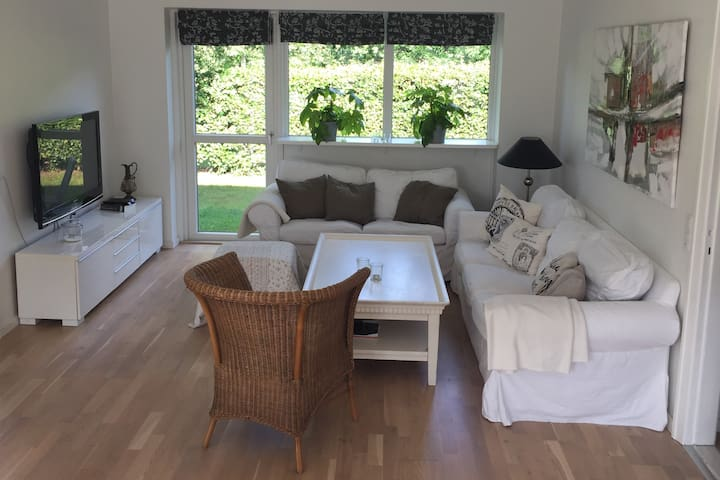 Nice 3 room apartment north of Copenhagen