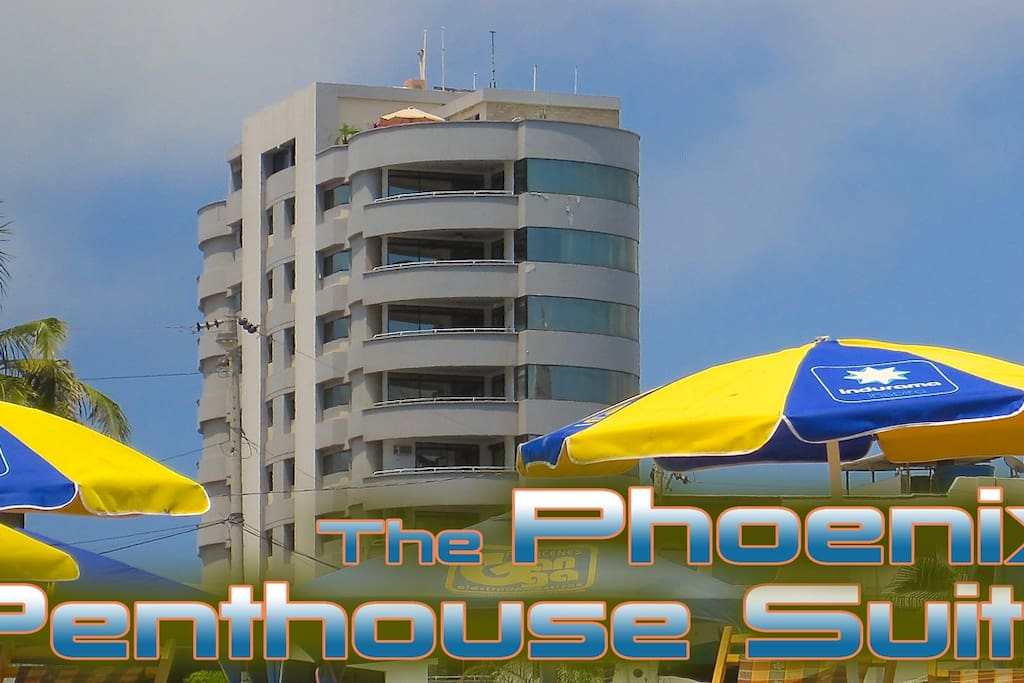 Your spot is on the top 2 floors! The pictures can't even express the amazing views it has on all of it's 4 balconies.