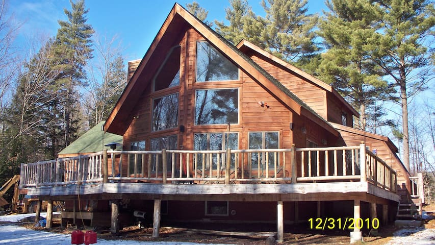 Lake George Adirondack stye house  - Chestertown - Chalet