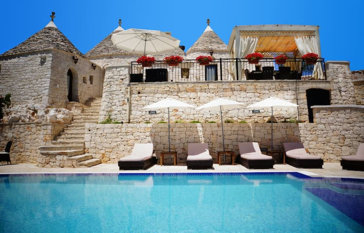 Trullo with swimming Pool in Puglia - Alberobello - Coreggia - Casa cova