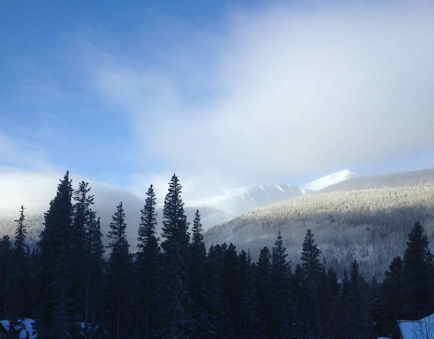 View from front of house - Summit's highest peak Quandary Mtn.