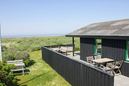 Fjord view, cosy summer house idyll - Logstor - Cottage