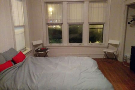 Fully furnished/private 1 bed room!