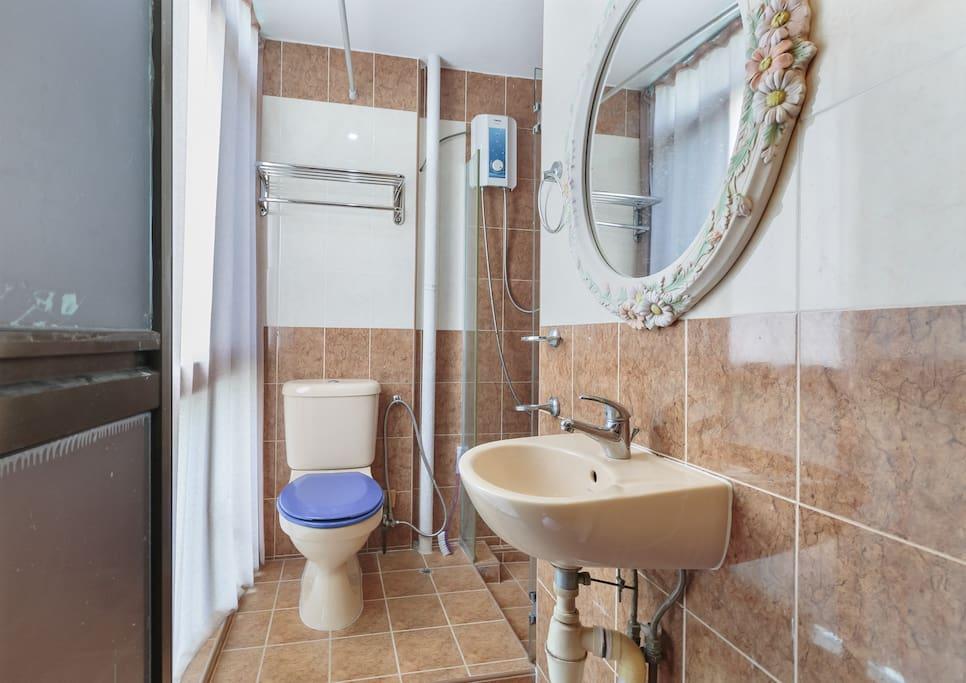 Attached toilet cum bath