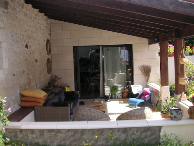 Converted stone barn self  contained