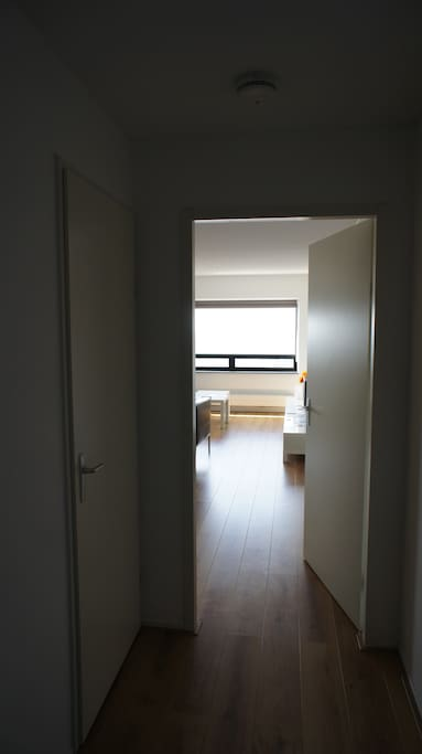 Welcome to your private studio apartment at The Hague Tower!
