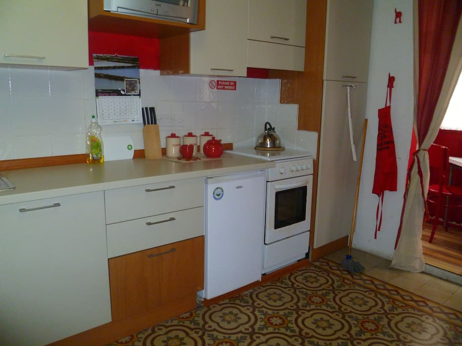 Your self-contained kitchen