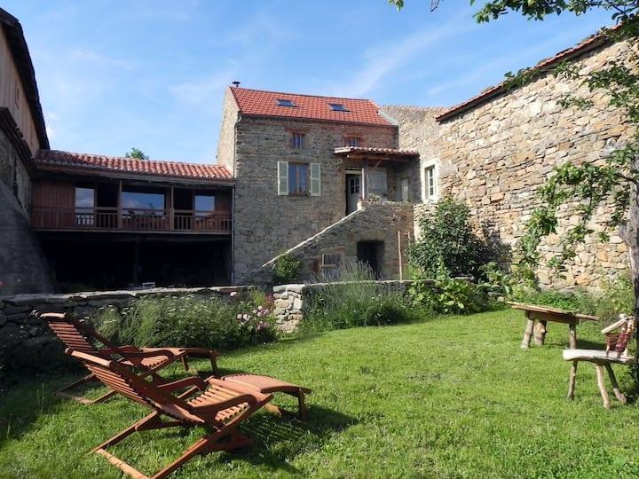 Maison de vacances en Auvergne