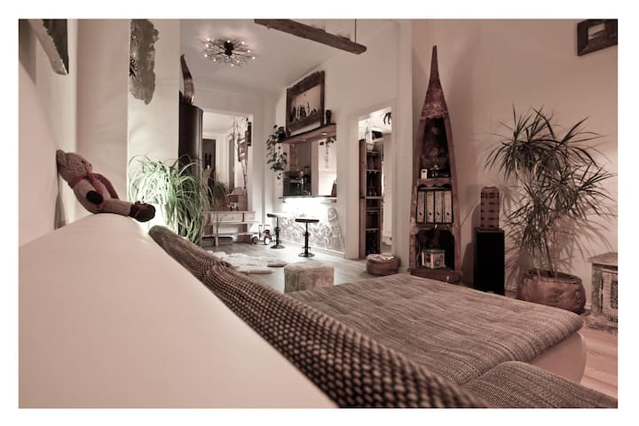 Modernes Altbremer Haus mit Garten. - 不來梅 - 獨棟