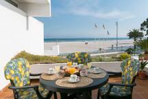 terraza  frente al mar de 11 m²
