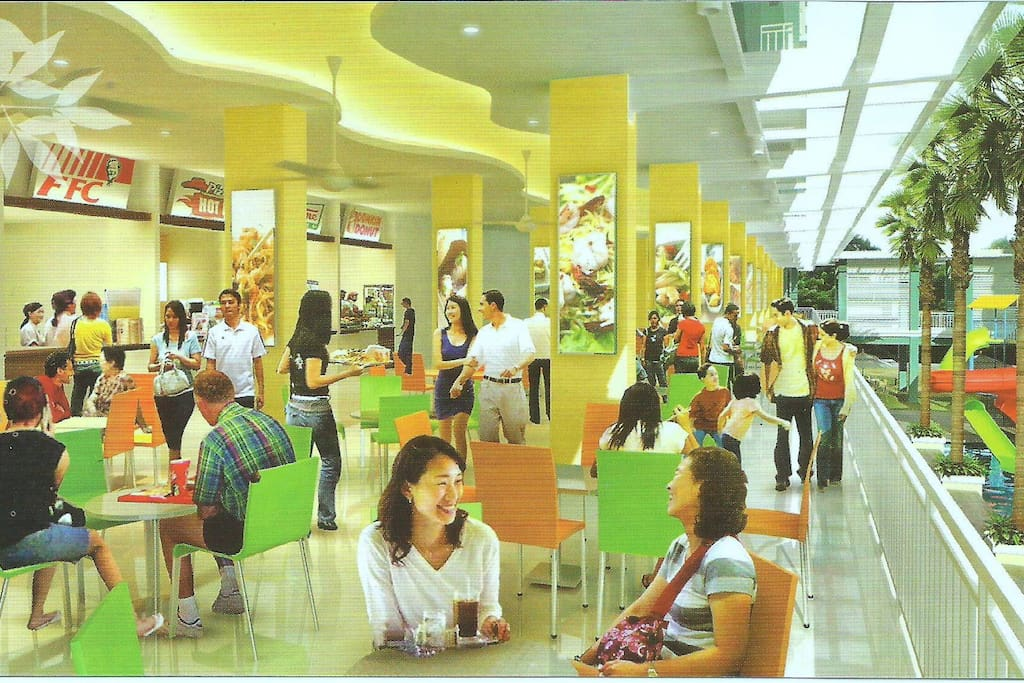 Area food court