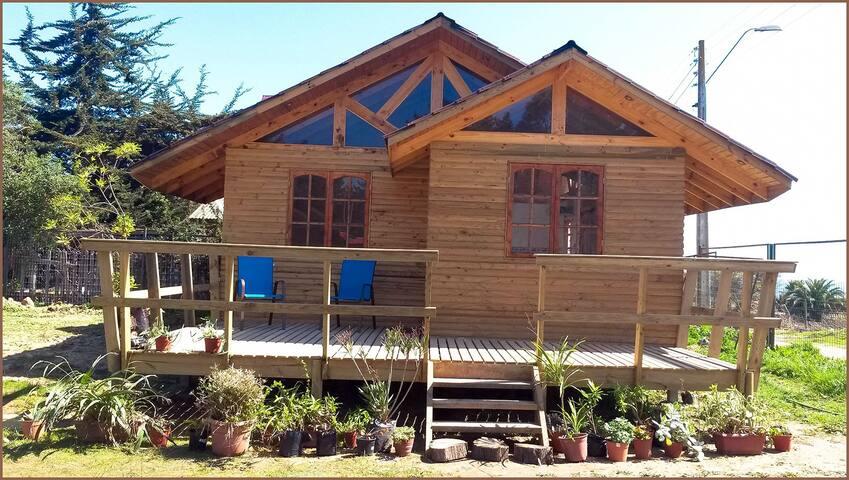 Cabañas Quintay 2 , rústicas y de calidad - Quintay - Stuga