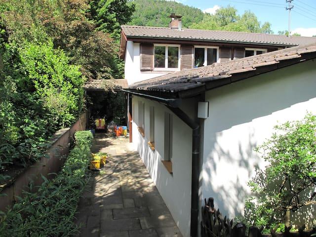 Ruhige, stadtnahe Wohnung im Grünen - Heidelberg - Appartement