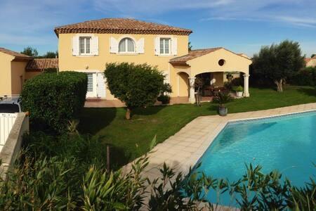 Villa familiale  piscine proche mer - Sauvian - Villa