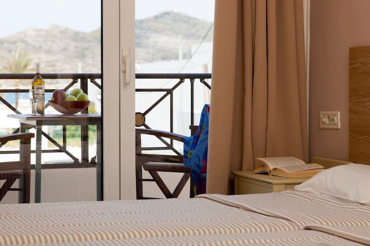 Mithos Apartments Triple Studio Sea View 2